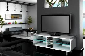 Black Gloss Living Room Furniture Tv Stands Glamorous High Gloss Tv Stand 2017 Design Black Gloss