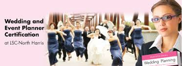 how to become a wedding planner wedding planner certification course at lsc harris