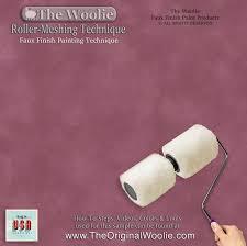 7 best the woolie original 2 color split roller faux paint