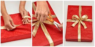 gold gift wrap how to wrap a gift wrapping a present step by step