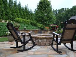 Backyard Pit Wow U0027 House Must See Backyard Includes Patio Stacked Stone Fire