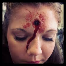 bullet wound in head makeup google search halloween