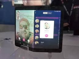 lenovo folio is a foldable tablet that becomes a phone with two