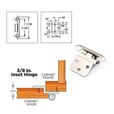 hinges for inset kitchen cabinet doors 10 pairs mount decorative inset cabinet hinges 3 8 38snb