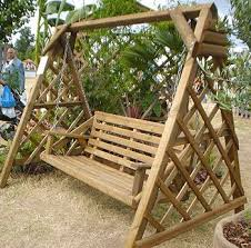 25 beste ideeën wooden garden swing op pergola