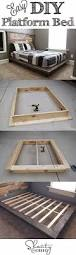 King Platform Bed Frame Plans by Best 25 Diy Platform Bed Ideas On Pinterest Diy Platform Bed