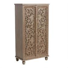 how to make storage cabinets olive carved wood floral vine almirah storage cabinet