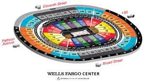 wells fargo center floor plan the weekender 6 game pack philadelphia 76ers