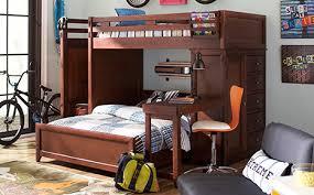 popular of full bunk bed with desk affordable bunk loft beds for