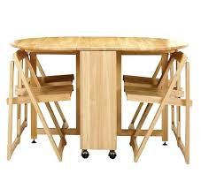 table and chairs with storage wood foldable table nice folding table with chair storage wood