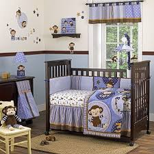 Boy Monkey Crib Bedding Adorable Monkey Crib Bedding Room Themes Monkey Baby And Monkey