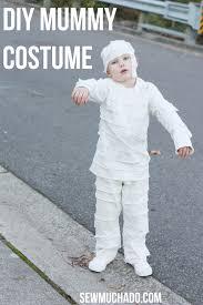 diy mummy costume for kids sew much ado