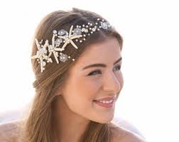 wedding hair wreaths tiaras etsy