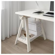 Ikea White Desk Table by Finnvard Linnmon Table White 150x75 Cm Ikea