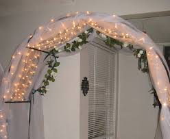 wedding arches using tulle my s wedding tips for decorating arches