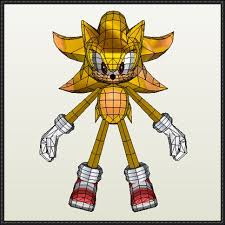 Sonic The Hedgehog Papercraft - the hedgehog 2 sonic free papercraft