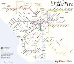 Dart Train Map Hypothetical La Rail Map Transit Maps Pinterest