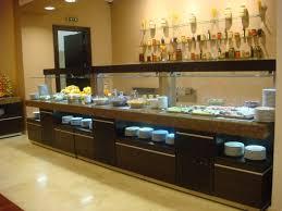 customize long hotel restaurant modern furniture buffet table