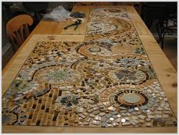 Diy Mosaic Table Mosaic Tile Table Top Diy Tiles Home Design Ideas Kax9bwj1gg
