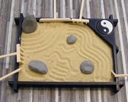 Mini Zen Rock Garden Tabletop Zen Garden Etsy