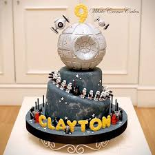 starwars cakes wars birthday cakes popsugar