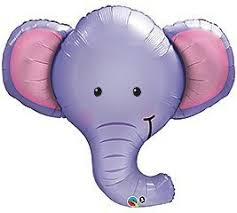 purple elephant baby shower decorations one xl baby boy purple elephant baby shower balloons