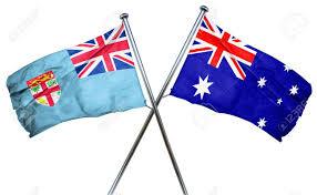 Pictures Of The Australian Flag Fiji Flag Combined With Australian Flag Stock Photo Picture And