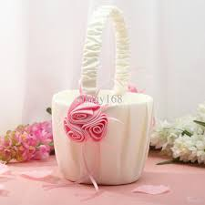 wedding baskets 2018 top quality wedding flower girl baskets wedding favors unique