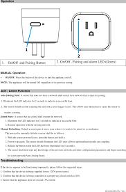Resume Operation Szesw02n Zigbee Energy Switch User Manual Users Manual Sercomm