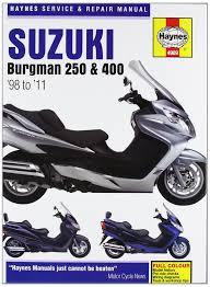 haynes suzuki burgman 250 u0026 400 u002798 to u002711 haynes service u0026 repair