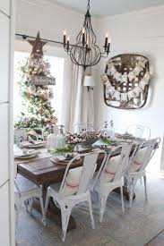 Ideas For Dining Room Decor Best 25 Christmas Dining Rooms Ideas On Pinterest Rustic Round