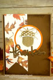 stampin up thanksgiving cards ideas 551 best acorny thank you retired images on pinterest