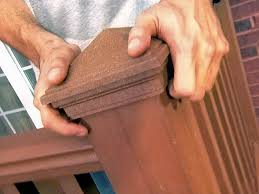 How To Build A Banister For Stairs Installing A Deck Railing How Tos Diy