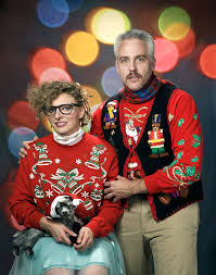 Christmas Sweater Meme - seattle news and events meet the seattle couple who unwittingly