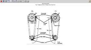 timing chain how do i set timing chain on a83 mazda truck 2 0
