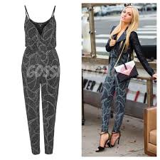 topshop jumpsuit topshop glitter jumpsuit uk6 bn s fashion on carousell