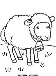 coloriage danimaux  dessin de mouton à colorier  Coloriage