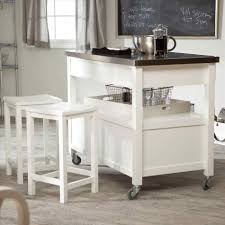 styles solid wood top kitchen cart mobile island ideas black