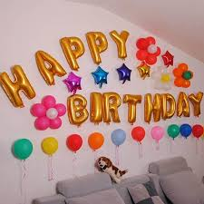 birthday wall decoration home remodeling ideas marvelous lovely
