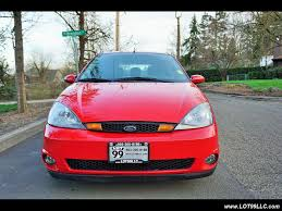 2003 ford focus svt 4 doors moon roof 6 speed manual for sale in