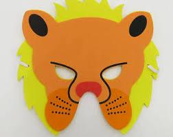 lion mask for kids kids lion mask etsy