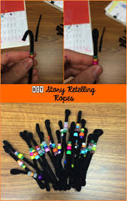 story retelling ropes for adding a visual and kinesthetic