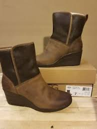 ugg renatta sale ugg australia renatta stout waterproof leather s wedge boots