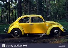 yellow volkswagen beetle royalty free vw beetle car sutton heath near woodbridge suffolk uk stock