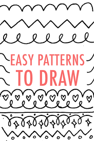 easy patterns to draw design your own pattern