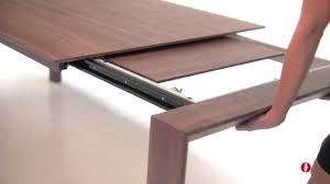calligaris omnia wood extendable table by neo interiors youtube