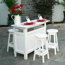 Modern Garden Table And Chairs Berlin Gardens Outdoor Poly Bar Set Bars Benches Picnic