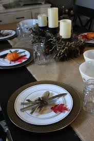 simple thanksgiving table decor the finishing touches kitchola