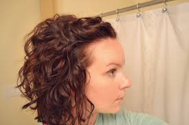 why is my hair curly in front and straight in back curly hair part 2 mama mandolin