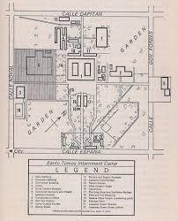 floor plan of the secret annex santo tomás internment camp luzon u2013 philippine internment